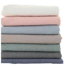 Folha a folha Wholesales cama de casal Defina 100% algodão colchas de hotel