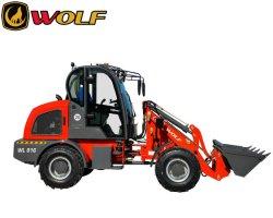 China Leverancier 8 Serie Wl816 Wl825 Wolf Articulated 4 Wheeled Met CE compacte dieselvoorwiellader voor mini/landbouw/boerderij/tuin/verkoop