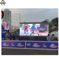 4K DE TELEVISIÓN Al aire libre grandes P6 P8 P10 en el panel de pared de vídeo LED Publicidad