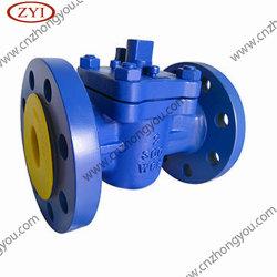 PTFE 라이닝 소프트 패킹 DN50 Pn100 플러그 밸브