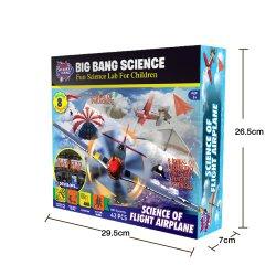 Scienza giocattolo del gambo del giocattolo di vendita dell'aeroplano DIY di volo di migliore