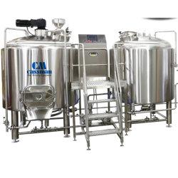 Cassman SUS304 2 buques 1000L 10bbl Cervecería equipos para la cervecera Brewpub