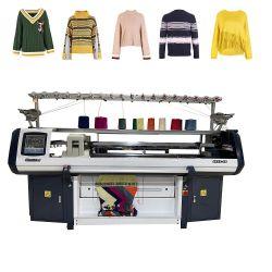 中国のセーターによってコンピュータ化される平たい箱編む機械