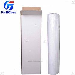 De witte Mat van de Vloer van de Polyester Niet-geweven met PE Folie voor Gevoeld Beschermend van de Treden van de Vloer