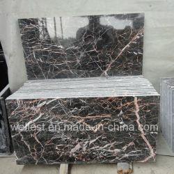 M502 Portor Rosa/Rojo Cuco marrón oscuro pulido de mármol y suelos de baldosas de pared