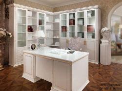 خزانة كتاب Oppin Euro White High Gloss Laquer Corner (SG11116A)