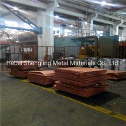 良質安い価格の純度99.9%の銅の陰極中国製