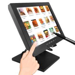 """Sistema POS 1024X768 12"""" 15"""" 19"""" 21.5"""" TFT LCD monitor de ecrã táctil com marcação, RoHS, FCC para restaurante Shopping Mall Cofes"""