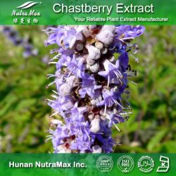 100% натуральные Chasteberry извлечения Vitexin порошка (5%, 5%, Agnuside Flavones 0,5% примерно на 2%)
