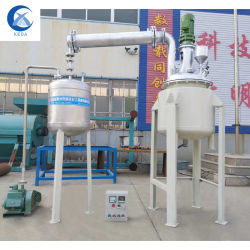 Het reactor Bewogen Ss van de Tank Industriële Beklede Roestvrij staal dat van Cstr van de Partij van de Biodiesel Prijs van de Reactor van de Tank de Chemische mengt