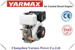 Arrancador diesel refrescado aire de la mano del solo cilindro Engineym178f de Yarmax/arranque eléctrico