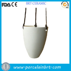 Piantatrice d'attaccatura dell'interno a buon mercato di ceramica domestica della decorazione