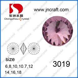 Élément de cristal poli 12mm pour la mode Accessoires bijoux
