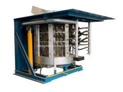Indução Eléctrica Industrial forno de fusão de metais para o ouro prata cobre de sucata de aço de ferro de fundição de alumínio