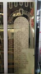 تركيب باب الرفع تزيين Ss201 المنتجات ذات الألواح المعدنية سعر السهم
