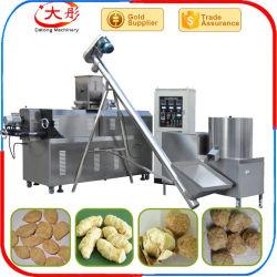 Nuggets de soja lanches máquina de alimentar as proteínas vegetais linha de processamento de alimentos