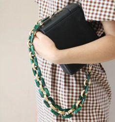 2020 بوليستر [أستيك سد] نساء نمو بلاستيكيّة أكريليكيّ حقيبة شريكات [لينك شين] لأنّ حقيبة يد حقيبة مقبض