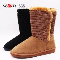 Cheap nieve caliente chica Brown Boot botines de Invierno de venta