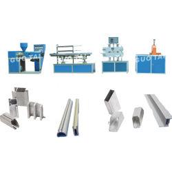 PVC 단면도 밀어남 기계 생산 라인