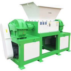 Prijzen van de Ontvezelmachine van de Schacht van het Document van het Metaal van de Band van het Schroot van China de Beste Dubbele Goedkoop voor het Verscheuren van het Gebruik