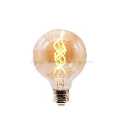 E27 G80// G95 G125 à double spirale filament des ampoules à LED LED Vintage