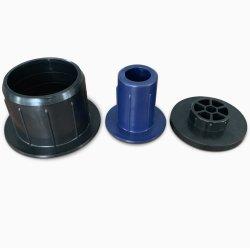 La Cina ha fatto la spina di plastica di sostegno del supporto del tubo del tubo di memoria della tazza dell'estremità per la protezione del rullo di pellicola