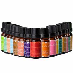 Óleo de massagem óleo essencial de cuidados da pele Planta Natural Alfazema Rose Mint Beleza Aromaterapia reparação muscular calmante óleo corporal puro Óleo Essencial Óleo composto