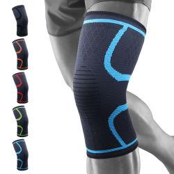 OEM de Unisex-Kokers van de Knie van de Compressie van Breathbale van Sporten Elastische Nylon