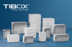 2020 Distribution en plastique ABS Box-Switch Case (type vis)
