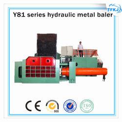 Compresores hidráulicos de desecho de residuos de metal empaquetadora
