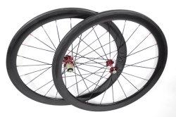 عجلات دراجات أنبوبية ذات نسبة كربون كامل 50 مم (FRx-W50T)