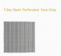 T-Bar, staal, geperforeerd oppervlak, alleen voor T-bar-plafond, HVAC