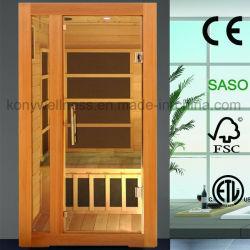 1 Лицо сухая сауна дом для использования в помещениях с угольными свечи Ce ETL