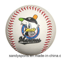 Promotional Gift를 위한 Diameter 주문을 받아서 만들어진 PU Soft Leather Baseball