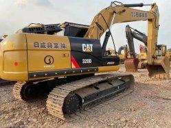 Utilizado Cat 320D/320d2/323/324/326/330/329/349/excavadora de cadenas excavadora hidráulica/ 20 toneladas/Japón Original/80% Nuevo.