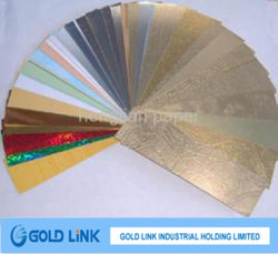 Pacchetto & decorare documento metallizzato colore