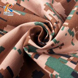 65%ポリエステル35%綿の軍服ファブリックデジタルRipstopカムフラージュファブリック
