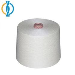 4s до 32s регенерировать Вся обшивочная ткань хлопок полиэстер смешанной пряжи для переплетения и вязание