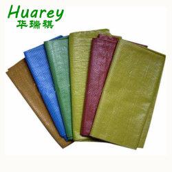 Рр тканый мешок для упаковки Рис, мука, сахар, подача, зерна песка, удобрений и других сельскохозяйственных продуктов