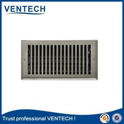 Griglia di aria del rifornimento del metallo di ventilazione del registro del pavimento del cunicolo di ventilazione