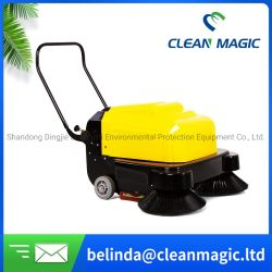Limpiar Magic CD1000 mano empujar y Time-Saving Mini Sweeper para parques / Factorys / Aeropuertos / Edificios de Oficinas / Residencial / Mina/carretera/suelo