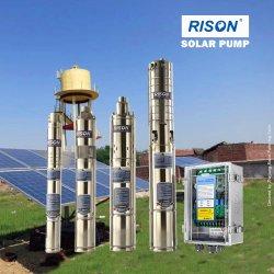 MPPTのコントローラ(保証3年の)が付いている最上質DC&AC互換性のある浸水許容の太陽ポンプ