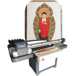 Un Ntek1 LED Imprimante scanner à plat UV Wer-ED6090UV pour verre, céramique, bois, plastique, cuir, PVC, le Conseil d'AC, prix d'usine