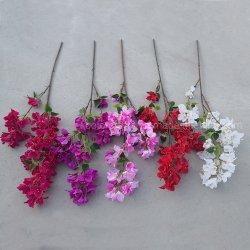 Fiore artificiale del Bougainvillea della seta artificiale di alta qualità decorativa del fiore per la decorazione di cerimonia nuziale