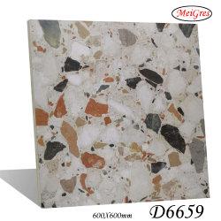 Terrazo (hormigón) Anti-Skid Royal Piso de cerámica de porcelana esmaltada baldosas de mármol (600*600 mm)