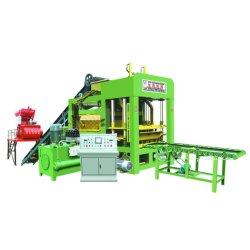 machine à fabriquer des blocs de couleur automatique complet finisseur, machine à fabriquer des blocs de ciment hydraulique creux