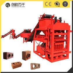 Het automatische het Maken van de Baksteen van de Modder van de Pers Met elkaar verbindende Blok die van Machine 4-10 tot Machine maken Hydraulische Met elkaar verbindende Bakstenen