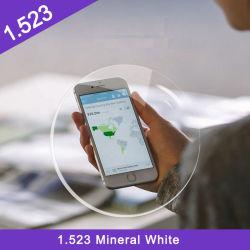 Acabamento de alta qualidade com preços baixos CR-39 Mineral 1.499 Hmc Visão única lente óptica