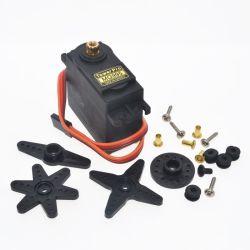 Servo ad alta velocità di 180 di grado Mg995 del metallo dell'attrezzo Digitahi di alta coppia di torsione un servo per il robot DIY vende al dettaglio Dropship