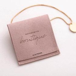 Beliebte Werbe Wildleder Schmuck Geschenk Verpackung Beutel Taschen Großhandel